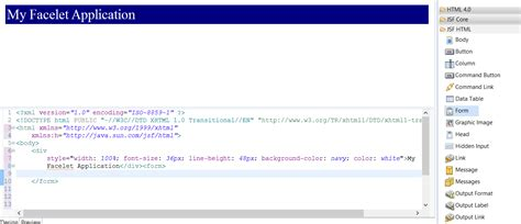 html design view in eclipse java how do i get the form generation wizard in eclipse