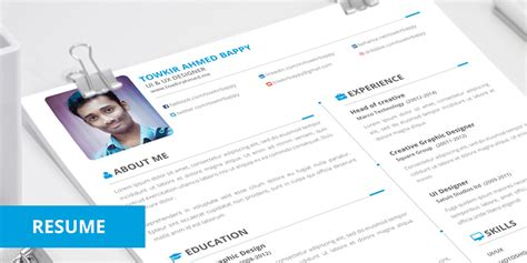 free creative resume templates 2015 10 free simple clean resume cv templates you would to
