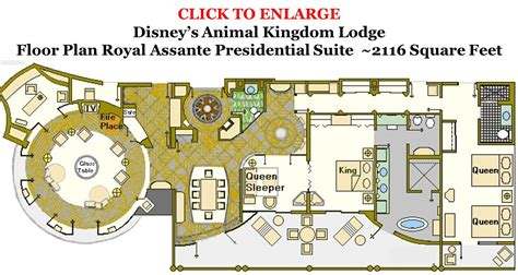 disney vacation club floor plans accommodations and theming at disney s animal kingdom