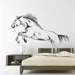 wall decals horse jumping wall stickers horse wall decals 2017 grasscloth wallpaper