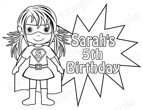 superhero coloring pages preschool superhero coloring pages preschool kids coloring page