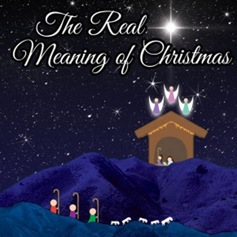 a review of the real meaning of christmas a last minute