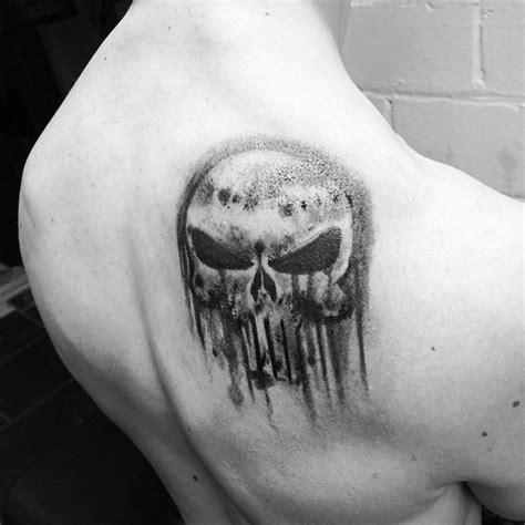 the punisher tattoo punisher by glen hartless tattoos