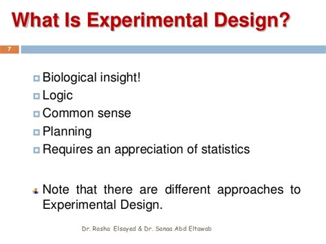 experimental design questions introduction to experimental design
