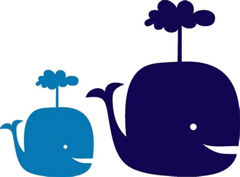 whale wall stickers baby whales wall decal baby nursery wall decals