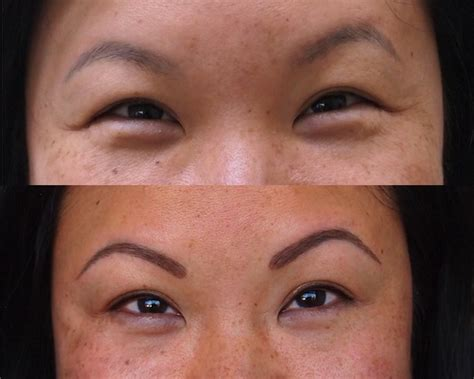 bad eyebrow tattoo eyebrow tattoos