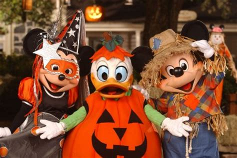 mickey's not so scary halloween party starts soon