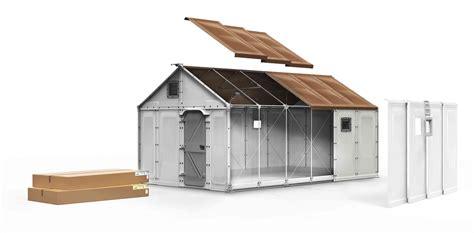 zurich wood firm builds refugee shelters  ikeas fail