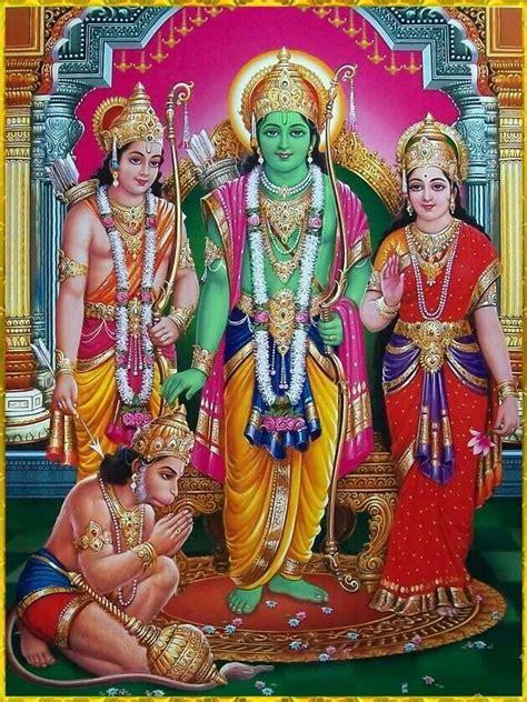 ram sita hanuman ram laxman sita ang hanuman hindu god