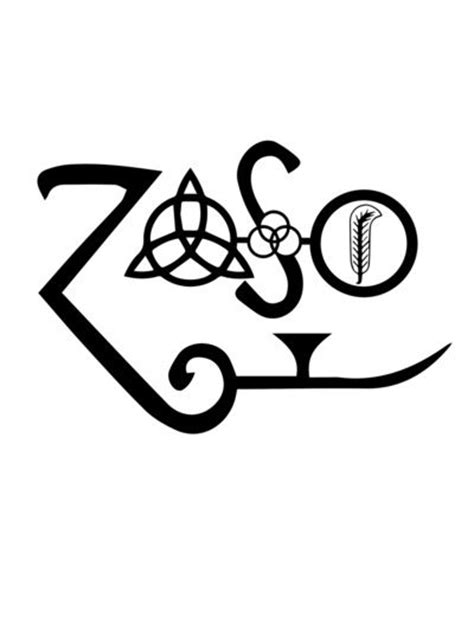 zoso tattoo designs 25 best ideas about led zeppelin on
