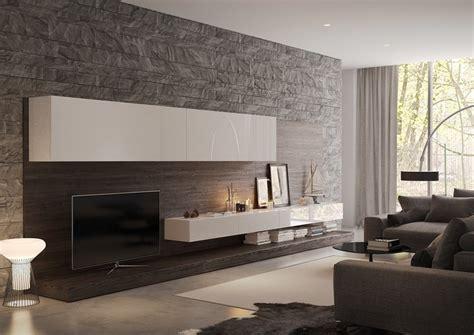 wohnwand steinoptik wohnzimmer wandgestaltung 30 beispiele mit 3d effekt