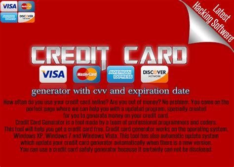 valid credit card generator idcompay