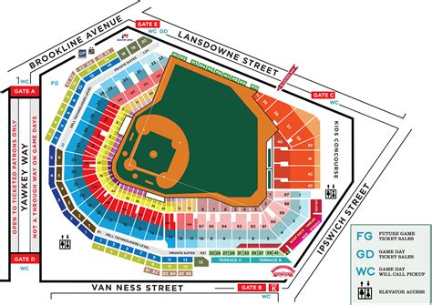 sox fenway seating view fenway park seating chart