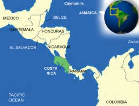 Costa Rica Map World by Costa Rica Facts Culture Recipes Language Government