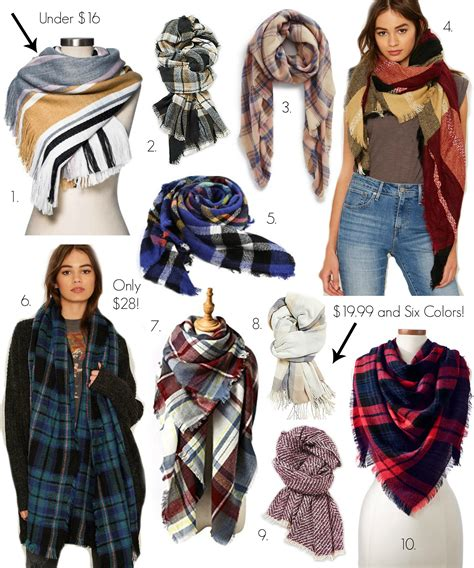 10 blanket scarves 30 coffee beans and bobby pins