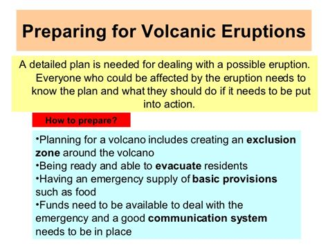 How To Prepare For An Living With Tectonic Hazards