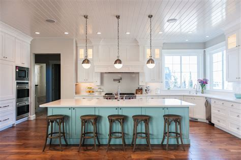 Blue Kitchen Island   Contemporary   kitchen   Benjamin