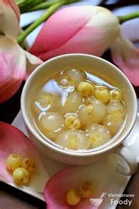 Lotus Seed Sweet Soup Lotus Seed And Longan Sweet Soup Che Hat Sen Nhan
