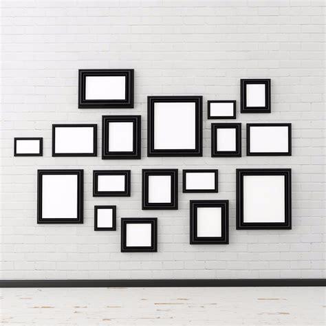 Wand Mit Vielen Bilderrahmen by 4 Tipps Wie Sie Mit Wenigen N 228 Geln Viele Bilder An Die