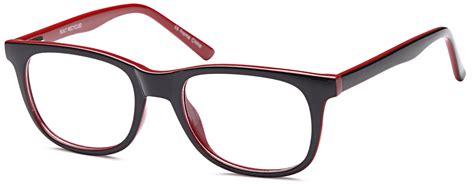 dalix glasses frames in black womens trendy reading