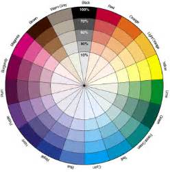 what color is the opposite of blue the color wheel and bariatrics