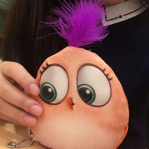 Dompet Koin Kain Model Kartun Berkualitas dompet koin kain model kartun orange jakartanotebook