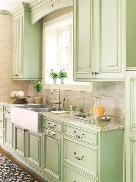 mint kitchens mint green cabinets new kitchen pinterest