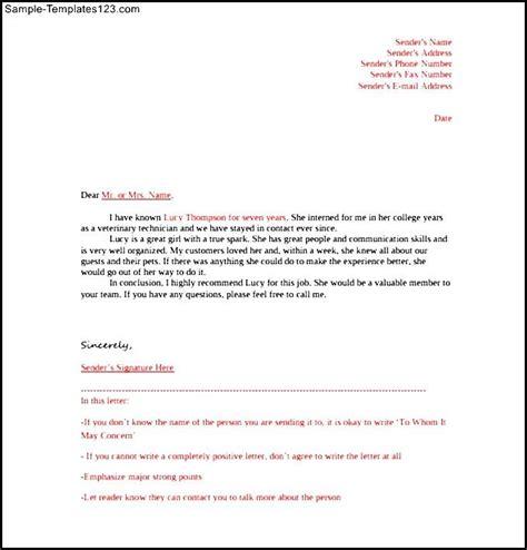 Reference Letter Format Pdf Sle Letter Of Reference Template Free Pdf Format Sle Templates