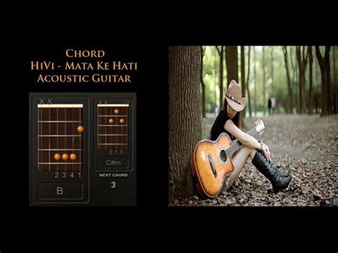 hivi orang ke 3 guitar tutorial chord hivi mata ke hati acoustic guitar cover youtube