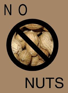 No 1 Nuts free posters and signs no nuts