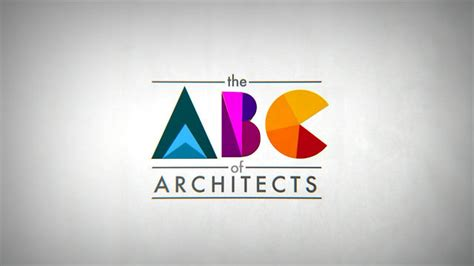 Abc Of Architecture the abc of architects on vimeo