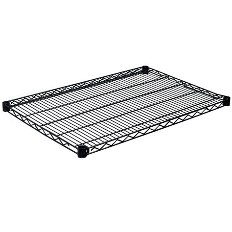 Closetmaid Black Wire Shelving Closetmaid 24 In Hanging Wire Shelf 1048 The Home Depot