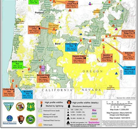 map of oregon 2015 fires map of oregon fires oregon map