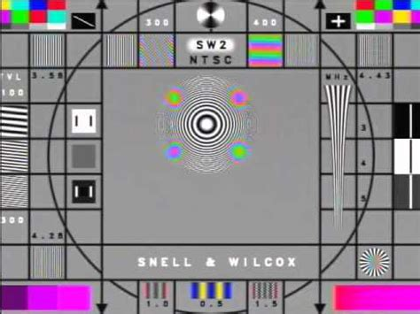 test pattern youtube runco ljr ii snell wilcox test pattern youtube