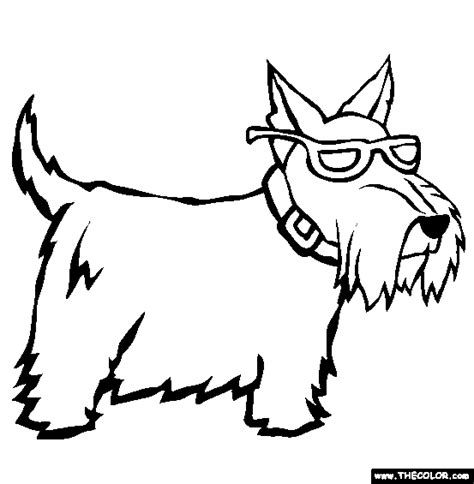 Online Coloring Pages Starting With The Letter S Page 2 Scottish Coloring Pages