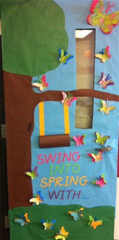 swing into spring 1000 images about classroom door decorations on pinterest