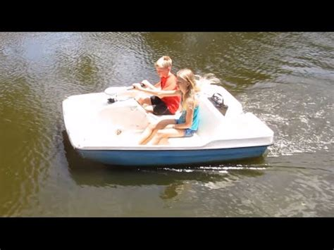 put put boat motor how to put a trolling motor on a paddle boat