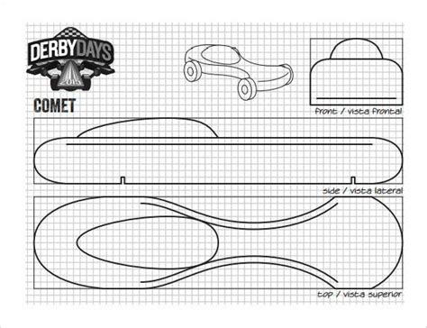 free pinewood derby templates printable 25 pinewood derby templates for cars design printable