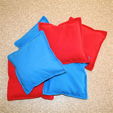 bean bag template 20 projects to sew for treasure crafts