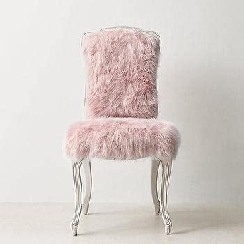 white fur desk chair white faux fur acrylic legs desk chair