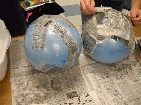 How To Make A Paper Mache Globe - in your amerigo vespucci toys