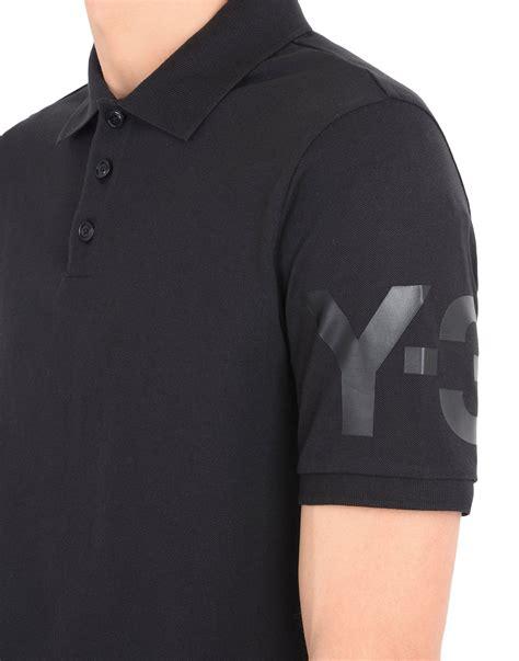 Polo Shirttshirtkaos Kerah Adidas Classic 3 y 3 classic polo shirt for adidas y 3 official store