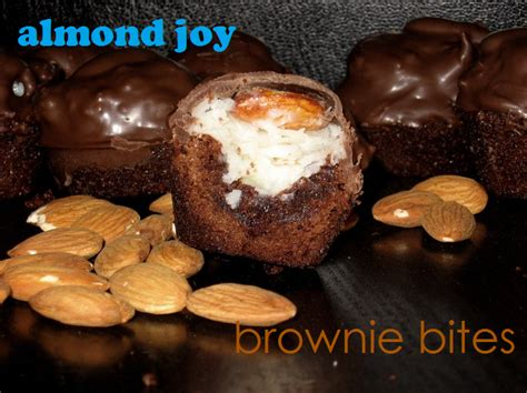 Brownies Almond By Steamqueen almond brownie bites the domestic rebel