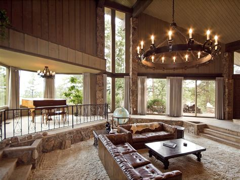 mixing mid century modern and rustic rustic mid century modern mountain estate for sale mountain mod