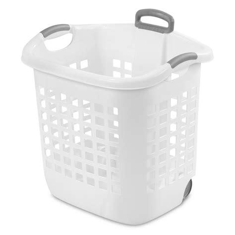 Sterilite 1 75 Bushel Ultra Wheeled Laundry Basket Case Wheeled Laundry