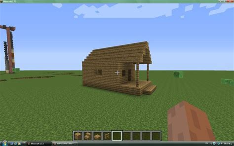 easy to build homes minecraft simple house 2