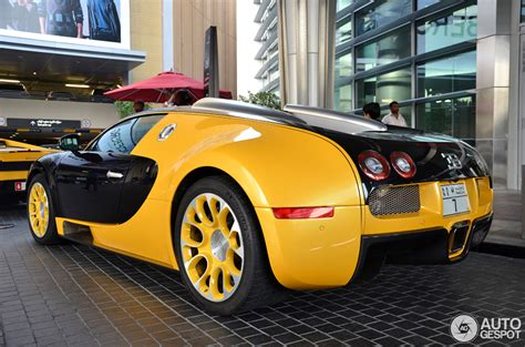 yellow and silver bugatti bugatti veyron 16 4 grand sport 14 march 2013 autogespot
