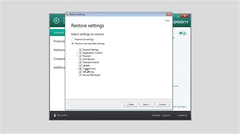 reset kaspersky internet security 2014 how to restore kaspersky internet security 2014 to its