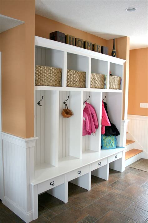 Mudroom Organization | hand made mudroom built ins by albert s grant fine