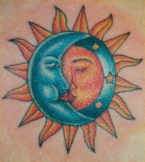 Tattoo Art Sun And Moon Tattoos Half Moon Half Sun Tattoos